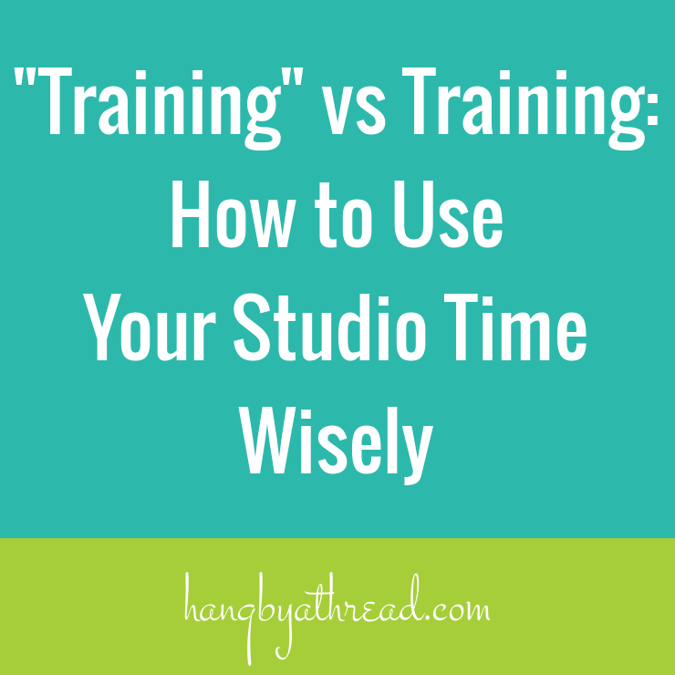 Are you wasting time at the studio? How to better plan your aerial training sessions.