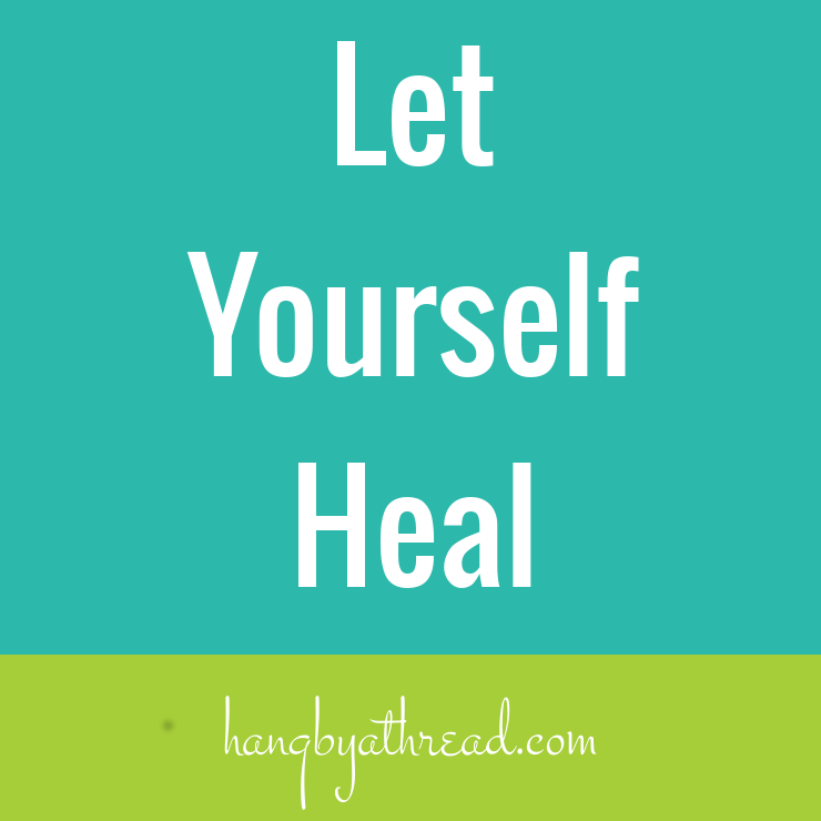 Let yourself heal before you make an injury worse.