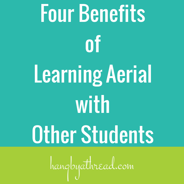 Four Benefits of Learning Aerial with Other Students