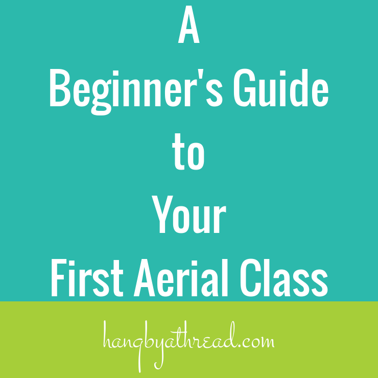 Thinking of taking your first aerial class but not sure what to expect? Here's a quick breakdown of what you can expect so you can walk in with a lot more confidence.